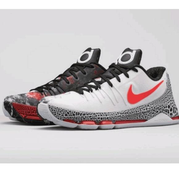 Christmas Shoes Nike.New Nike Kd 8 Christmas Size 10